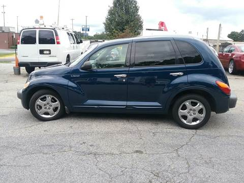 2001 Chrysler PT Cruiser for sale at REAL AUTOMOTIVE AUTO SALES in Marietta GA