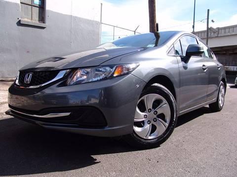 2013 Honda Civic for sale at Mr. Motorsales in Elizabeth NJ