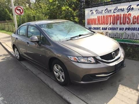 2013 Honda Civic for sale in Elizabeth, NJ