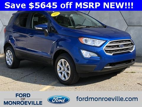 2019 Ford EcoSport for sale in Monroeville, PA