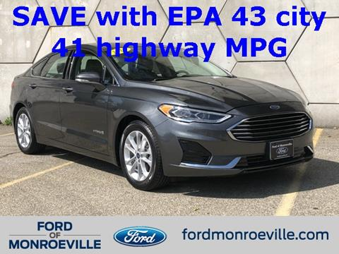 2019 Ford Fusion Hybrid for sale in Monroeville, PA