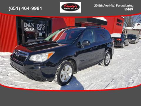 2014 Subaru Forester for sale in Forest Lake, MN