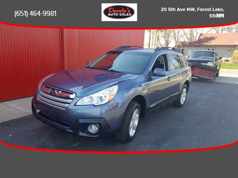 2014 Subaru Outback for sale in Forest Lake, MN