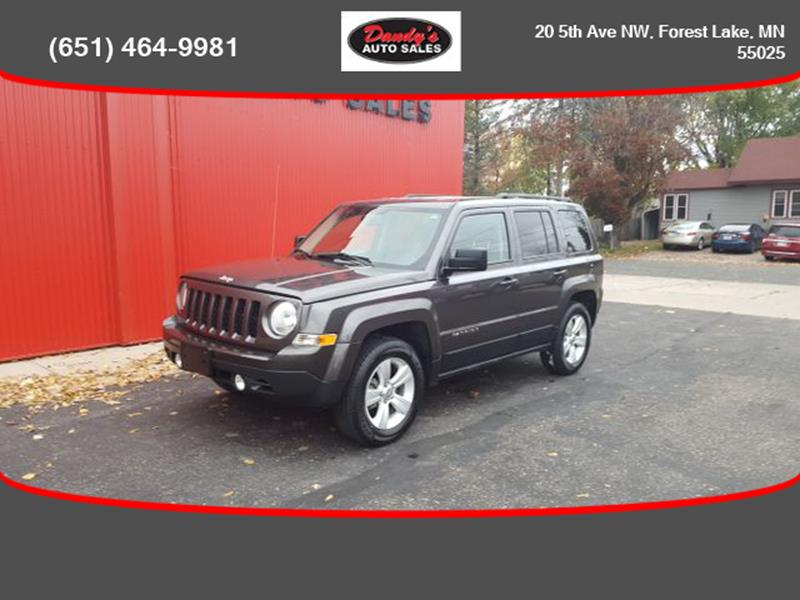 2017 Jeep Patriot for sale at Dandy's Auto Sales in Forest Lake MN