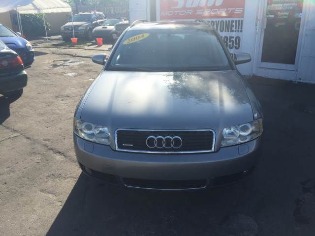 2004 AUDI A4 18T AVANT QUATTRO AWD 4DR WAGON gray instant financing with approved credit clea