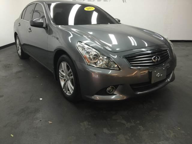 2012 INFINITI G37 SEDAN X AWD 4DR SEDAN gray welcome to sam motor sports  delivering better servi
