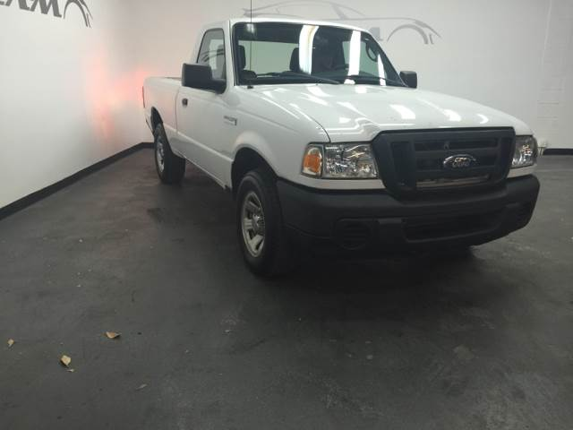2011 FORD RANGER XL 4X2 2DR REGULAR CAB SB off white one owner vehicle clean carfax save on