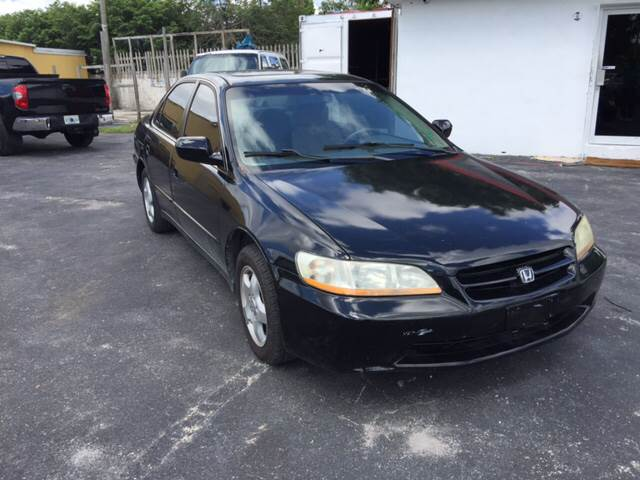 1999 HONDA ACCORD EX V6 4DR SEDAN black we want your trade instant financing with approved credi