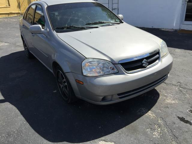2007 SUZUKI FORENZA BASE 4DR SEDAN 2L I4 4A silver we offer financing with as low as 995 down