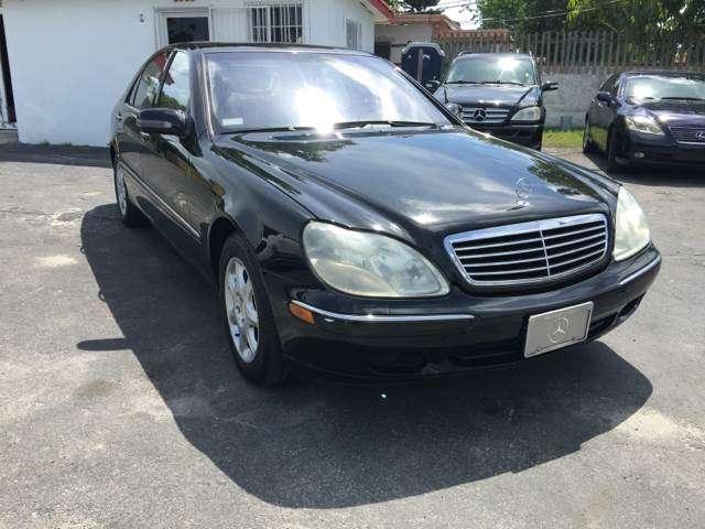 2001 MERCEDES-BENZ S-CLASS S500 4DR SEDAN black abs - 4-wheel air suspension anti-theft system