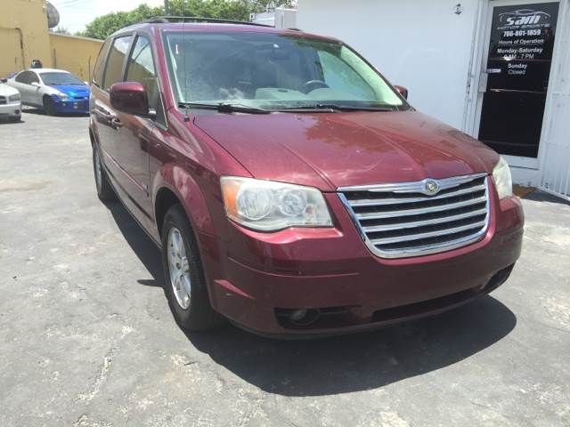 2008 CHRYSLER TOWN AND COUNTRY TOURING 4DR MINI VAN burgundy this vehicle is priced 999 below th