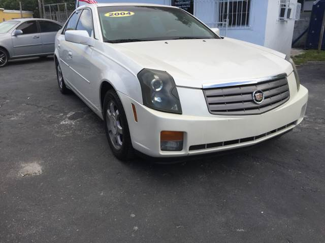 2004 CADILLAC CTS BASE 4DR SEDAN white come over sam motor sports will get you approved no matter