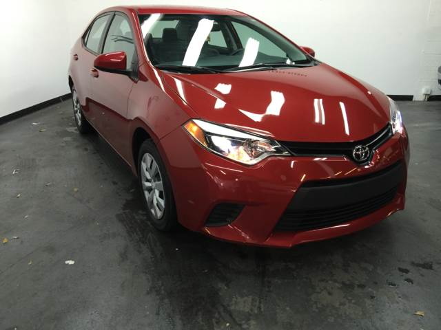 2014 TOYOTA COROLLA LE 4DR SEDAN burgundy toyota corrola absolutely perfect rear view camera aux