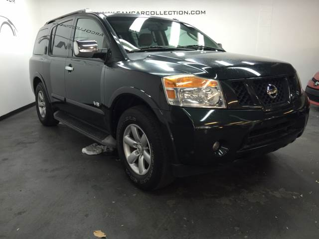 2008 NISSAN ARMADA LE FFV 4X2 4DR SUV green amazing deal on this beautiful 2008 nissan armada se