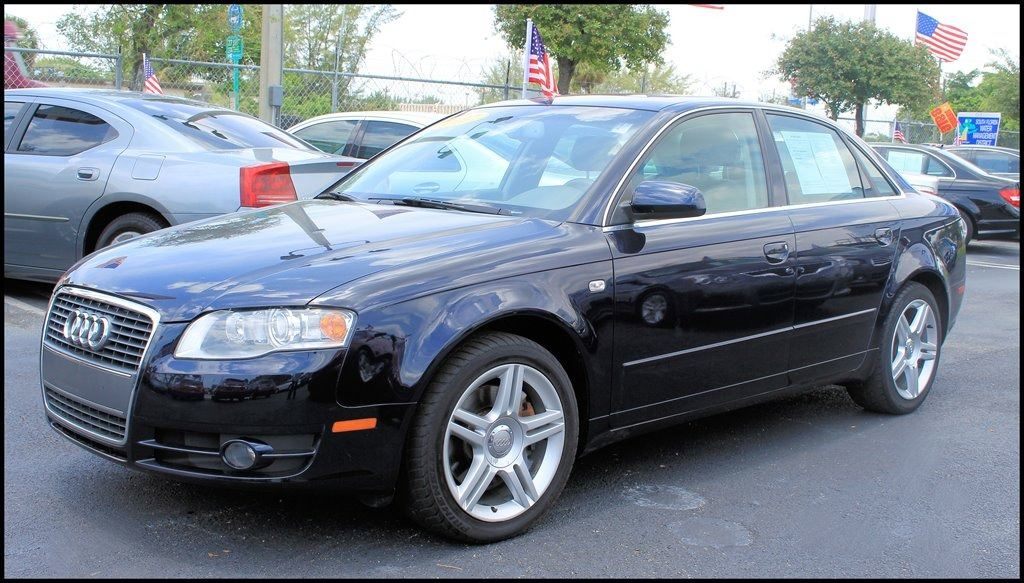 2007 AUDI A4 20T blue abs brakesair conditioningalloy wheelsamfm radiocargo area tiedownsc