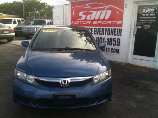 2010 HONDA CIVIC EX blue this vehicle is priced 999 below the market average according to nada i