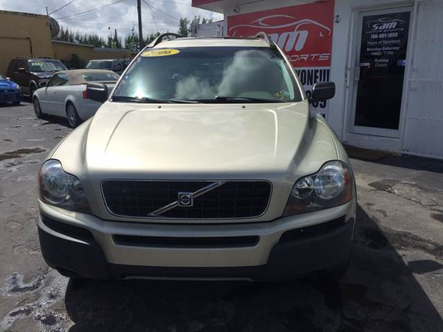 2006 VOLVO XC90 25T 4DR SUV gold instant financing with approved credit awesome  volvo xc90