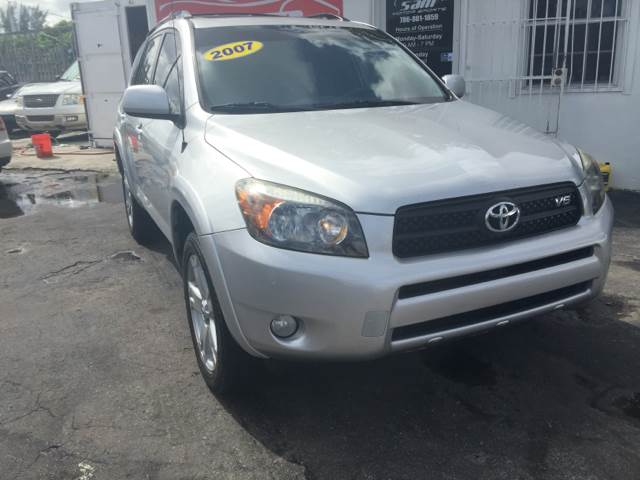 2007 TOYOTA RAV4 SPORT 4DR SUV V6 silver this vehicle is priced 1999 below the market average