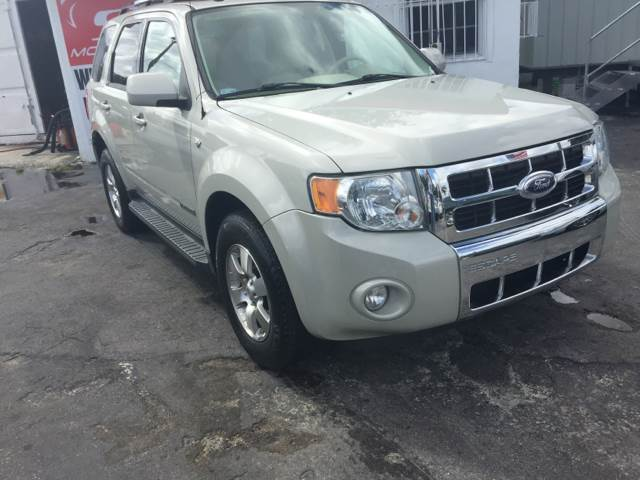 2008 FORD ESCAPE LIMITED 4DR SUV off white this vehicle is priced 1999 below the market average