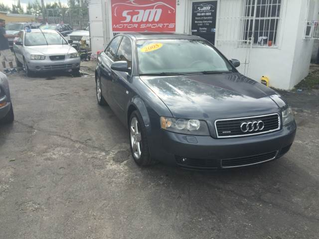 2005 AUDI A4 30 QUATTRO AWD 4DR SEDAN blue instant financing with approved credit 2005 audi a4