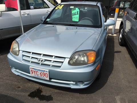 2004 Hyundai Accent for sale in Southbridge, MA