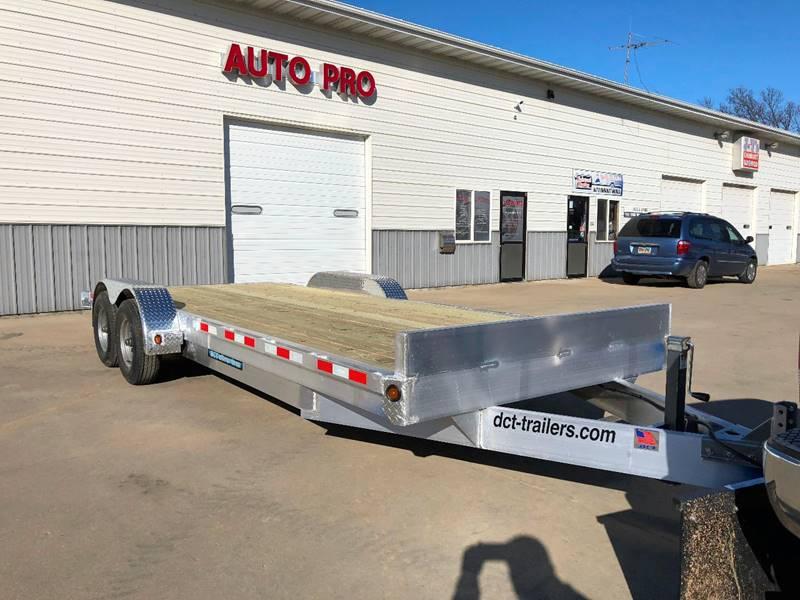 2018 aluminum car trailer dct 20 39 aluminum 8 frame in brookings sd auto pro. Black Bedroom Furniture Sets. Home Design Ideas