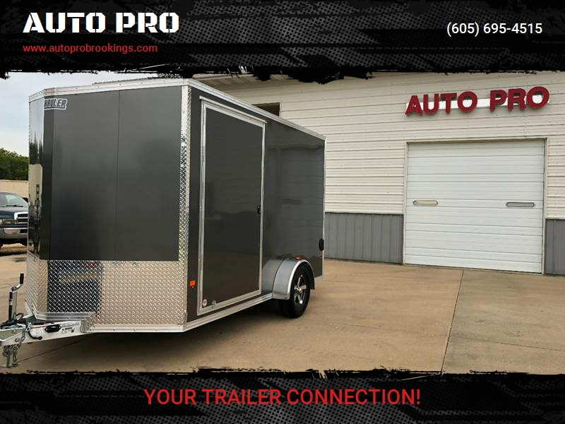 2018 enclosed trailers 7x12 high country extra height in brookings sd auto pro. Black Bedroom Furniture Sets. Home Design Ideas