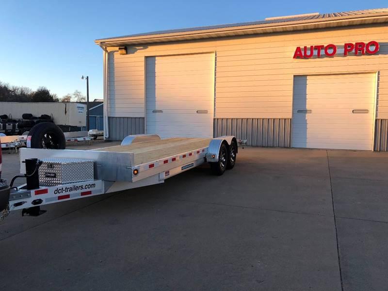 2018 aluminum car trailer dct 22 39 14k gvw in brookings sd auto pro. Black Bedroom Furniture Sets. Home Design Ideas
