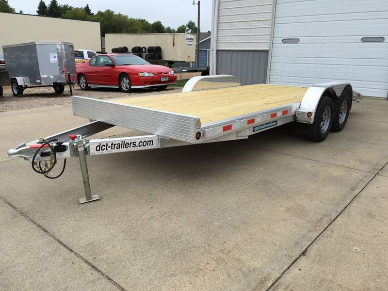 2018 Aluminum Car Trailer Dct 18\' Dove Tail In Brookings SD - AUTO PRO