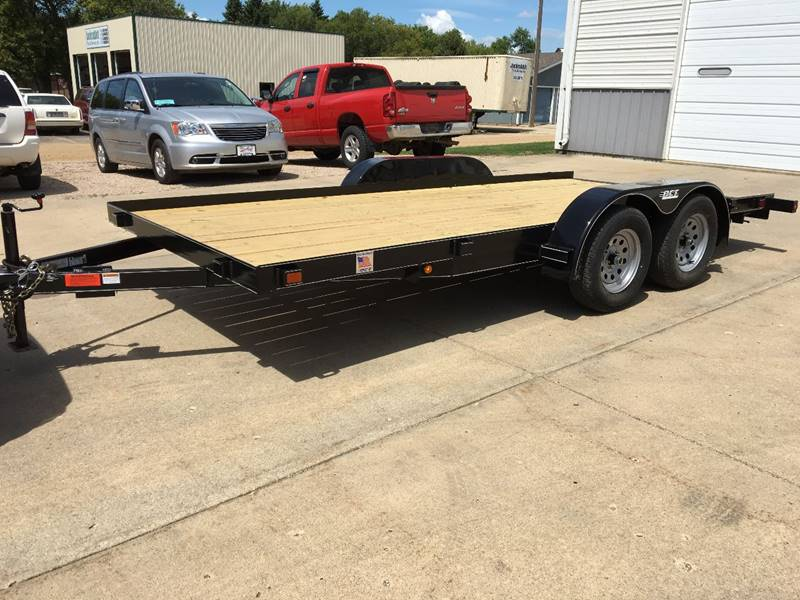 2018 Steel Car Trailer Dct 16\' Car Trailer In Brookings SD - AUTO PRO