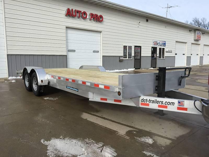 2019 aluminum car trailer dct 20ft hd aluminum in brookings sd auto pro. Black Bedroom Furniture Sets. Home Design Ideas