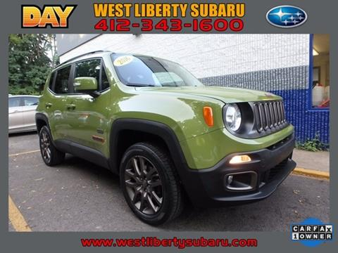 2016 Jeep Renegade for sale in West Pittsburg PA