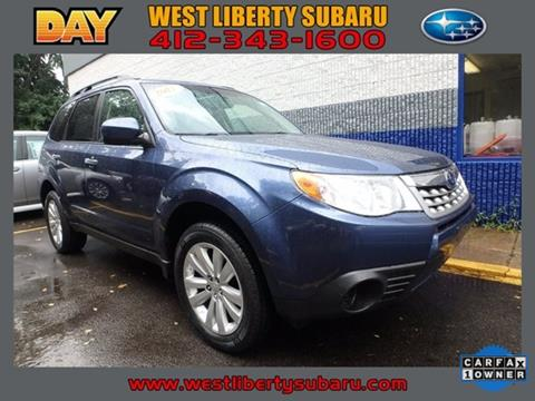2012 Subaru Forester for sale in West Pittsburg, PA