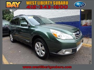 2012 Subaru Outback for sale in West Pittsburg, PA