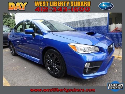 2015 Subaru WRX for sale in West Pittsburg PA