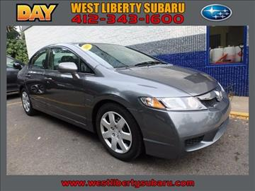 2009 Honda Civic for sale in West Pittsburg, PA
