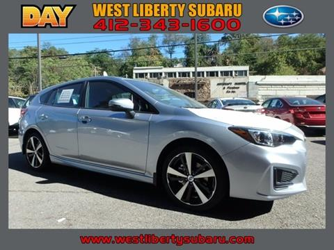 2018 Subaru Impreza for sale in West Pittsburg PA