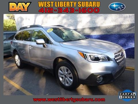 2016 Subaru Outback for sale in West Pittsburg PA