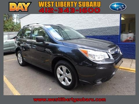 2015 Subaru Forester for sale in West Pittsburg, PA
