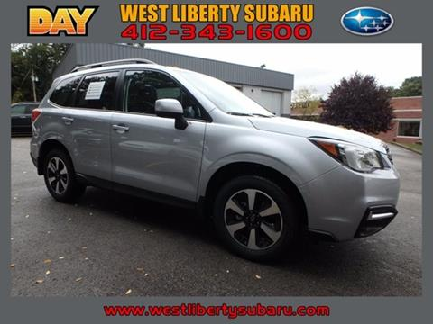 2018 Subaru Forester for sale in West Pittsburg PA