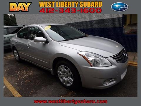2012 Nissan Altima for sale in West Pittsburg PA