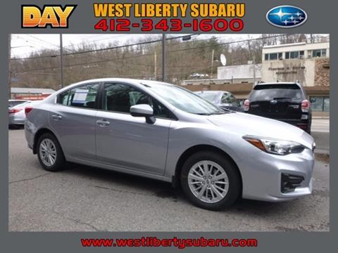 2017 Subaru Impreza for sale in West Pittsburg PA