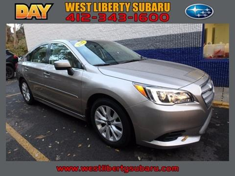 2017 Subaru Legacy for sale in West Pittsburg, PA
