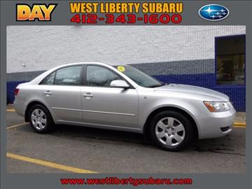 2007 Hyundai Sonata for sale in West Pittsburg, PA