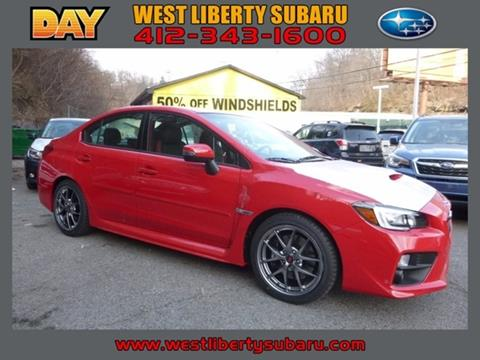 2017 Subaru WRX for sale in West Pittsburg, PA