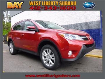 2014 Toyota RAV4 for sale in West Pittsburg, PA