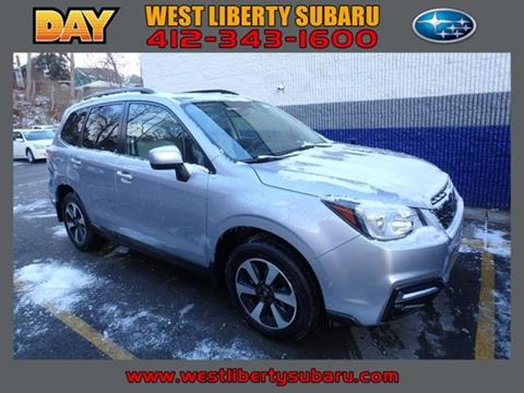 2017 Subaru Forester for sale in West Pittsburg, PA