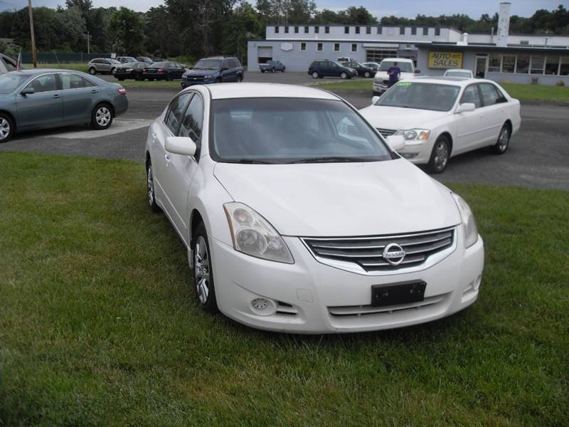 2012 Nissan Altima 25 S 4dr Sedan In Westfield Ma Brothers Automotive
