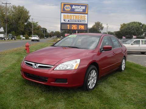 2007 Honda Accord for sale in Westfield, MA