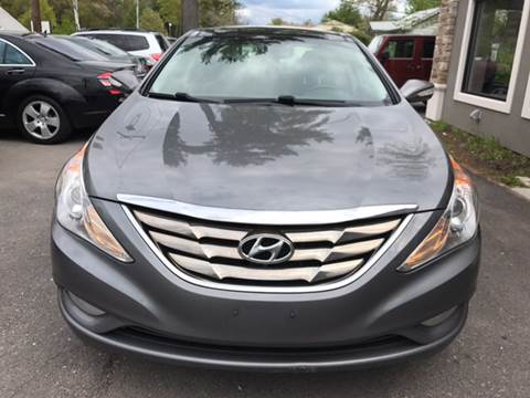2012 Hyundai Sonata for sale at Route 123 Motors in Norton MA